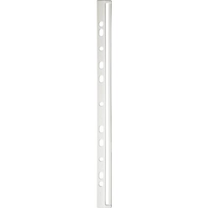 DURABLE Ordnungsschiene, DIN A4, weiß, aus Kunststoff