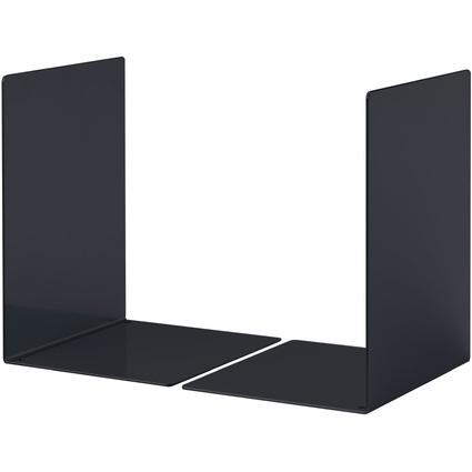 DURABLE Buchstütze L, aus Stahl, schwarz
