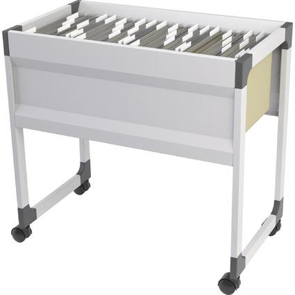 DURABLE Hängemappen-Wagen SYSTEM File Trolley 90A4S, grau