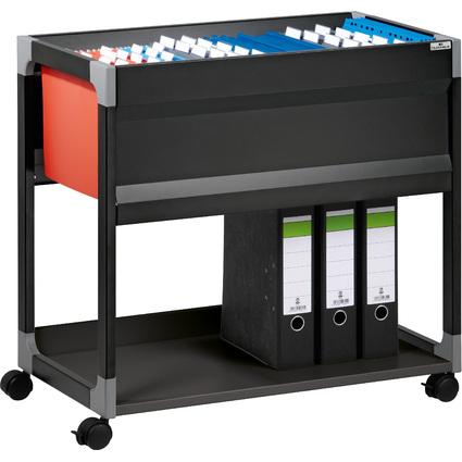 DURABLE Hängemappen-Wagen SYSTEM File Trolley, schwarz
