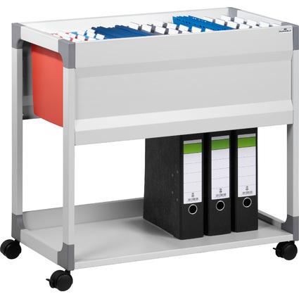 DURABLE Hängemappen-Wagen SYSTEM File Trolley, grau