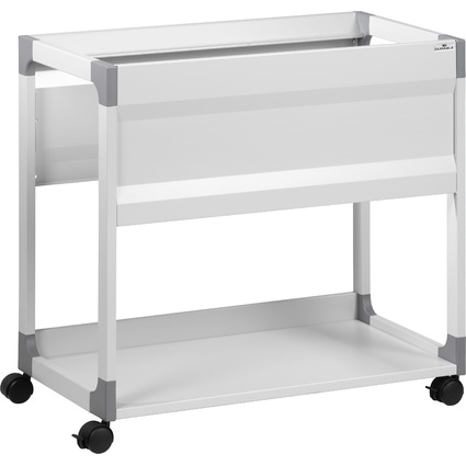 DURABLE Hängemappen-Wagen SYSTEM File Trolley, grau