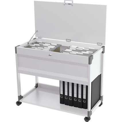 DURABLE Hängemappen-Wagen SYSTEM File Trolley 100 Multi Top