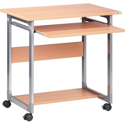 DURABLE PC-Arbeitsplatz SYSTEM Computer Trolley 75 FH