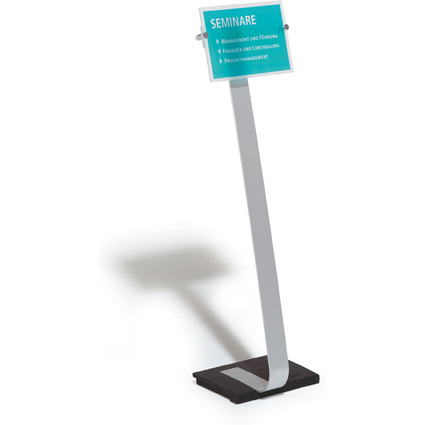 DURABLE Infoständer CRYSTAL SIGN stand, DIN A4