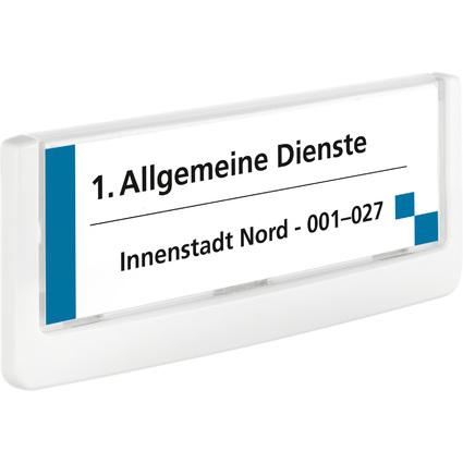 DURABLE Türschild CLICK SIGN, (B)149 x (H)52,5 mm, weiß