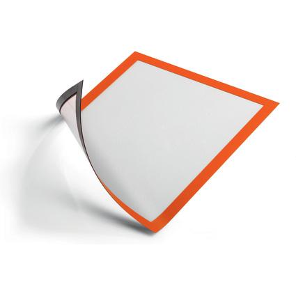 DURABLE Magnet-Rahmen DURAFRAME MAGNETIC, DIN A4, orange