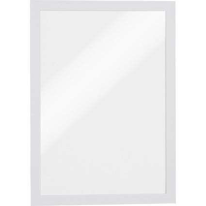 DURABLE Magnetrahmen DURAFRAME, DIN A4, weiß, Großpackung