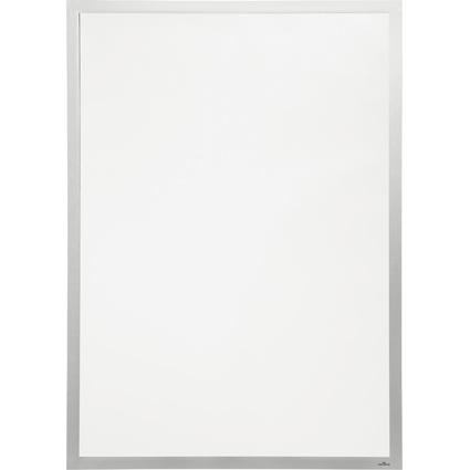 DURABLE Plakatrahmen DURAFRAME POSTER, 70 x 100 cm, silber