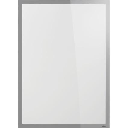 DURABLE Plakatrahmen DURAFRAME POSTER SUN, 50x70 cm, silber