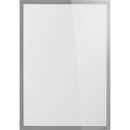DURABLE Plakatrahmen DURAFRAME POSTER SUN, 70x100 cm, silber
