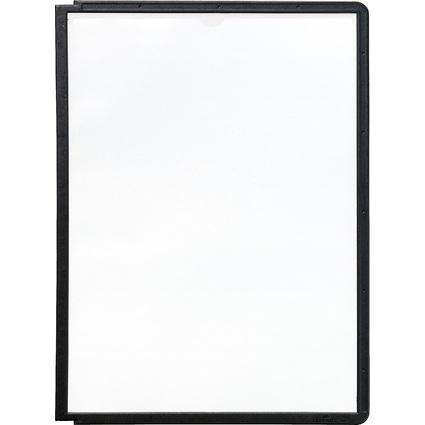 DURABLE Sichttafel SHERPA, DIN A4, Rahmen: schwarz