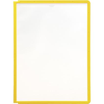 DURABLE Sichttafel SHERPA, DIN A4, Rahmen: gelb