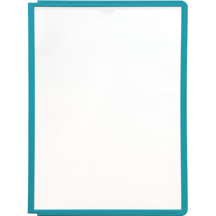 DURABLE Sichttafel SHERPA, DIN A4, Rahmen: grün