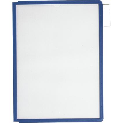 DURABLE Sichttafel SHERPA, DIN A4, Rahmen: dunkelblau
