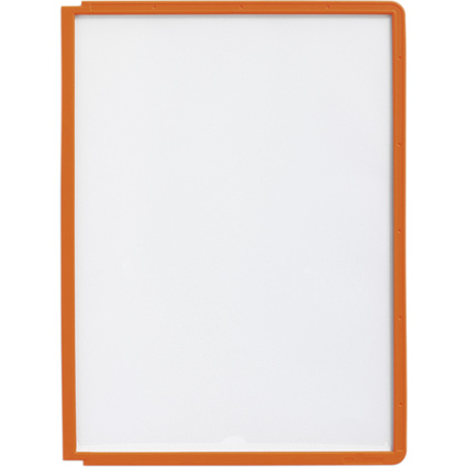 DURABLE Sichttafel SHERPA, DIN A4, Rahmen: orange