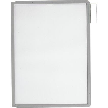 DURABLE Sichttafel SHERPA, DIN A4, Rahmen: grau