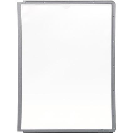 DURABLE Sichttafel SHERPA, DIN A4, Rahmen: graphit