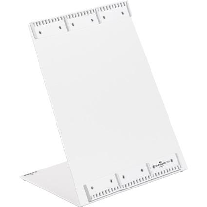 DURABLE Tischständer FUNCTION, für 30 Sichttafeln A4, grau