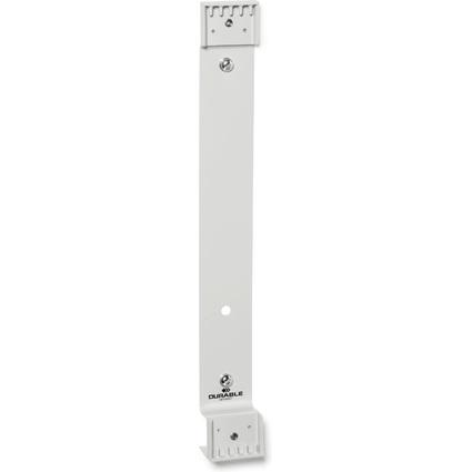 DURABLE Wandhalter FUNCTION, für 5 Sichttafeln DIN A4, grau
