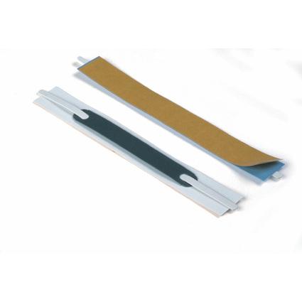 DURABLE Heftstreifen Flexifix, selbstklebend, weiß