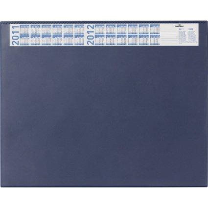 DURABLE Schreibunterlage mit Jahreskalender, dunkelblau