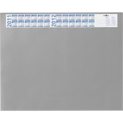 DURABLE Schreibunterlage mit Jahreskalender, grau