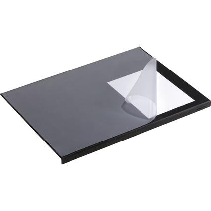 DURABLE Schreibunterlage mit Kantenschutz, schwarz