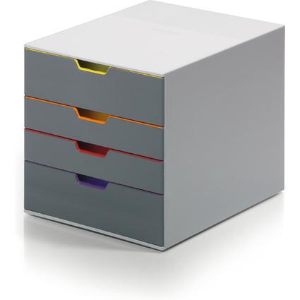 DURABLE Schubladenbox VARICOLOR 4, mit 4 Schubladen