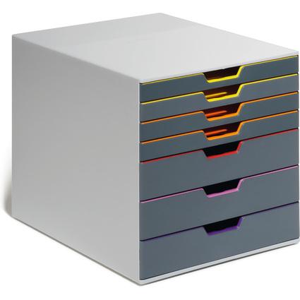 DURABLE Schubladenbox VARICOLOR 7, mit 7 Schubladen