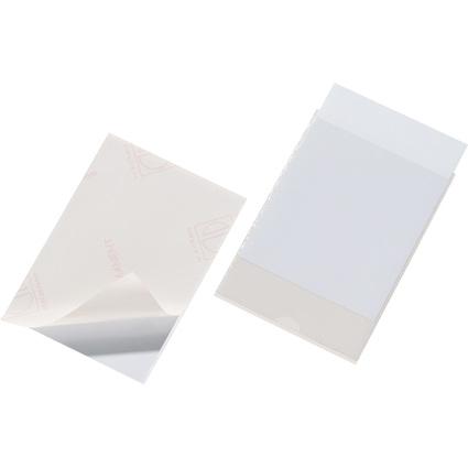 DURABLE Selbstklebetaschen POCKETFIX, (B)148 x (H)105 mm
