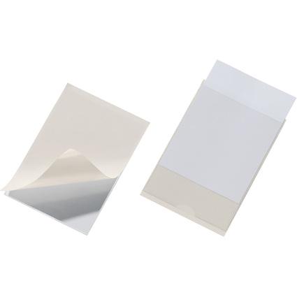 DURABLE Selbstklebetaschen POCKETFIX, (B)105 x (H)74 mm