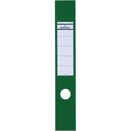 DURABLE Ordnerrücken-Etiketten ORDOFIX, grün