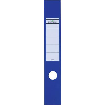 DURABLE Ordnerrücken-Etiketten ORDOFIX, blau