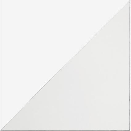 DURABLE Dreieck-Selbstklebetaschen CORNERFIX, 100 x 100 mm