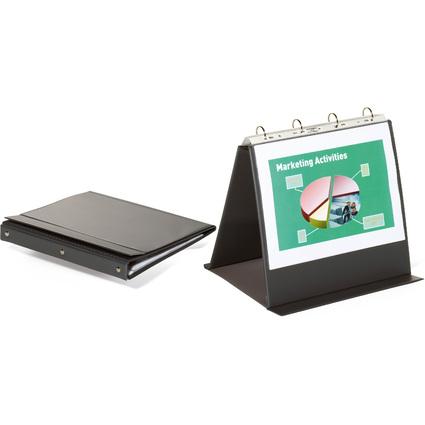 DURABLE Tisch-Flipchart ECONOMY, A4 quer, anthrazit/grau