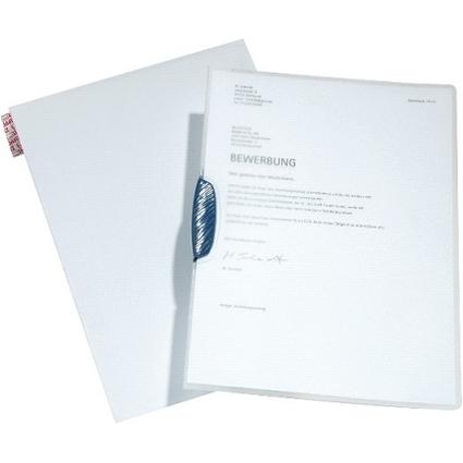 DURABLE Bewerbungs-Set SWINGCLIP, DIN A4, Clip dunkelblau