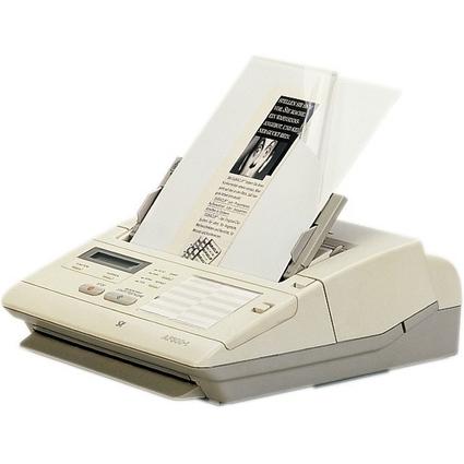 DURABLE Fax- / Kopierhülle, DIN A4, aus Kunststoff, weiß