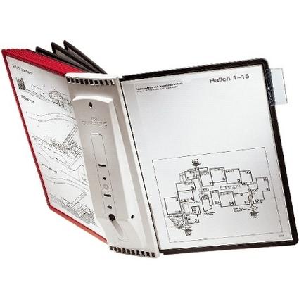 DURABLE Display-System SHERPA wall 10, Komplett-Set