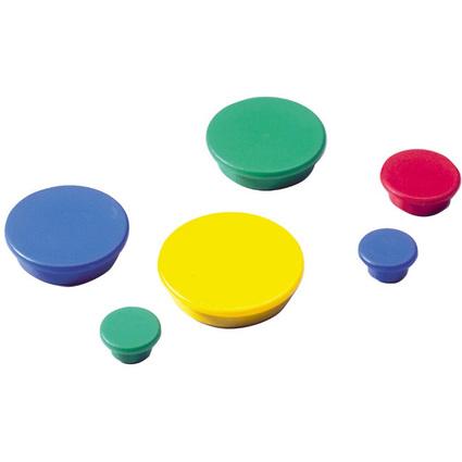 DURABLE Haftmagnete, rund, Durchmesser: 32 mm, weiß