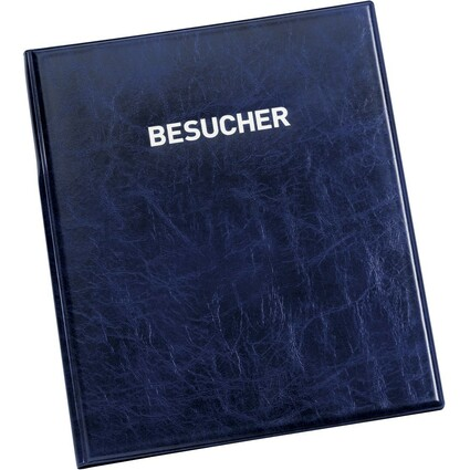 DURABLE Besucherbuch VISITORS BOOK 100, Lederoptik