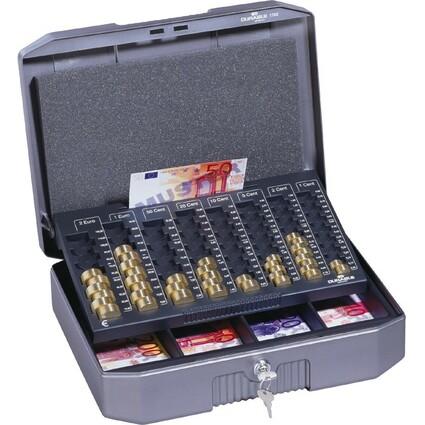 DURABLE Geldkassette EUROBOXX, (B)352 x (T)276 x (H)120 mm