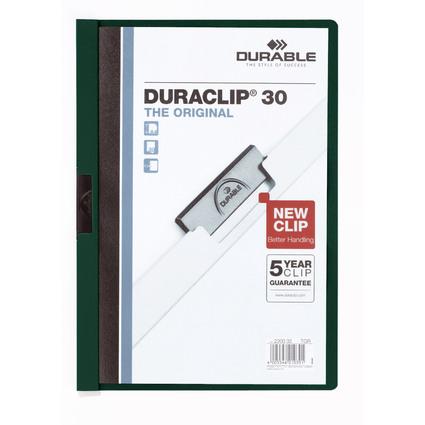 DURABLE Klemmhefter DURACLIP ORIGINAL 30, DIN A4, petrol