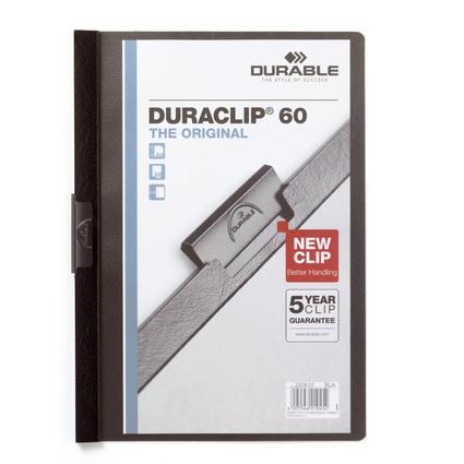 DURABLE Klemmhefter DURACLIP ORIGINAL 60, DIN A4, schwarz