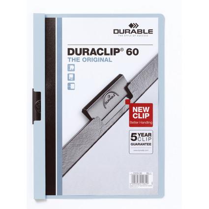 DURABLE Klemmhefter DURACLIP ORIGINAL 60, DIN A4, blau