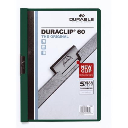 DURABLE Klemmhefter DURACLIP ORIGINAL 60, DIN A4, petrol