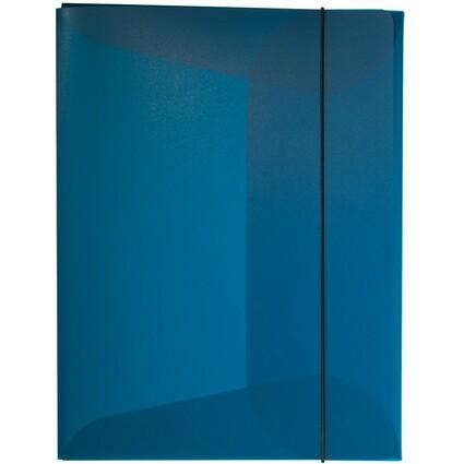 DURABLE Sammelbox, DIN A4, PP, Füllhöhe: 15 mm, dunkelblau