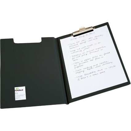 DURABLE Klemmbrett-Mappe Standard, DIN A4, schwarz