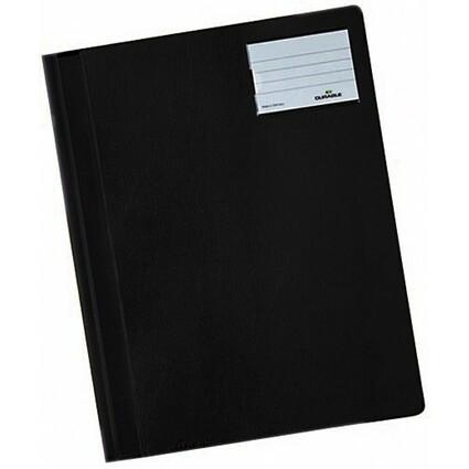 DURABLE Schnellhefter, DIN A4, aus PVC, schwarz