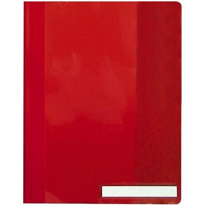 DURABLE Schnellhefter, DIN A4, aus PVC, rot
